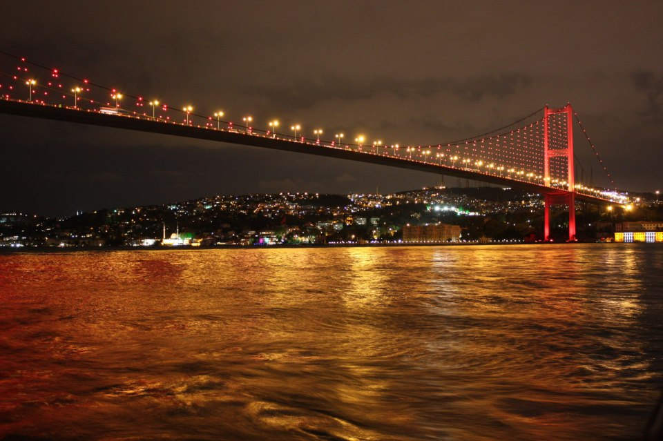 Sea Green Sea Blue Blog İstanbul Bosphorus Bridge