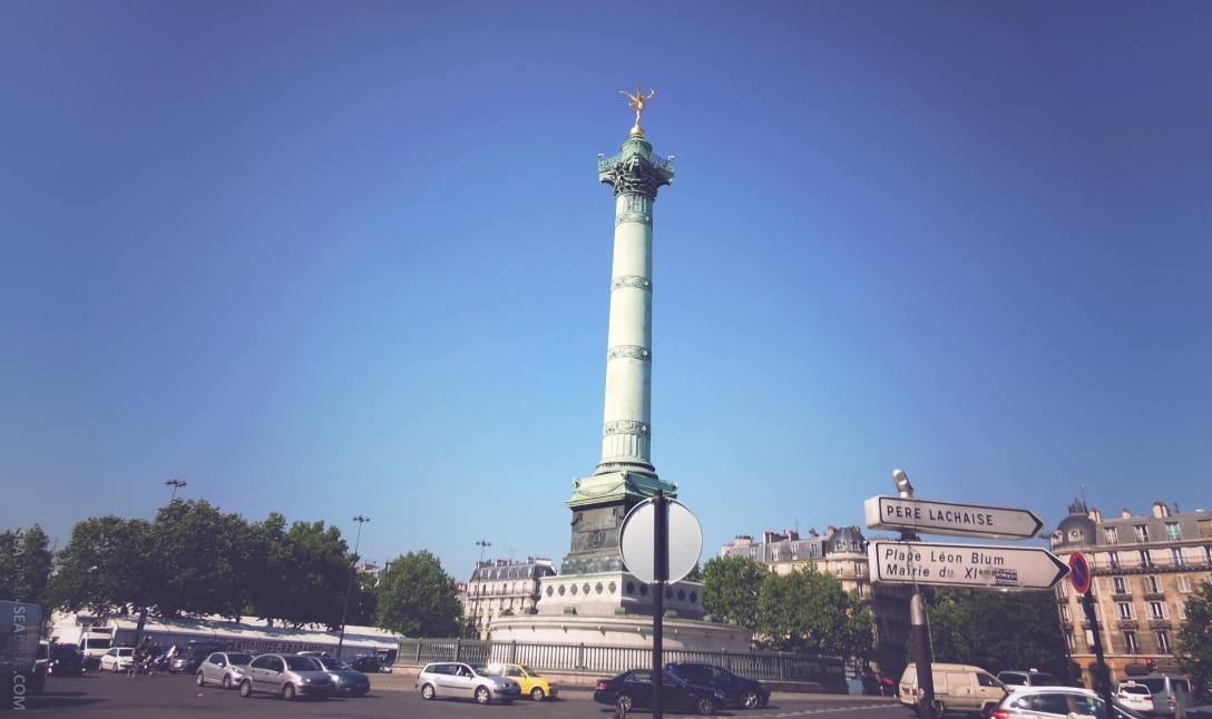 Sea Green Sea Blue Paris