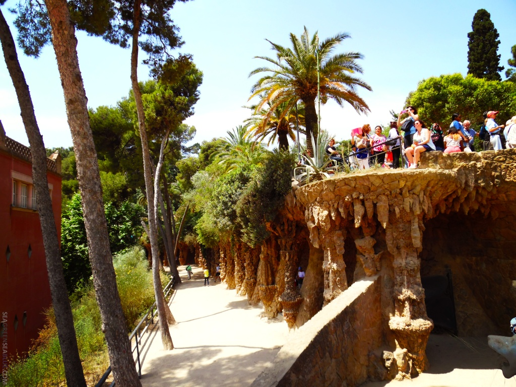 Barcelona-Park-Guell-Sea-Green-Sea-Blue1