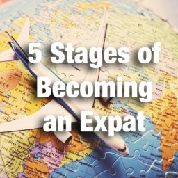 5 Stages of Becoming an Expat